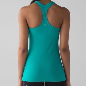 lululemon athletica Tops - Lululemon Cool Racerback II Viridian Green